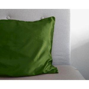 Sleeptime Beauty Skin Care Green glanssatijn Kussensloop