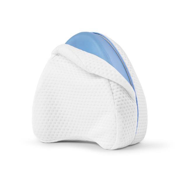 Swiss Nights Orthopedic Knee Pillow Memory Foam White