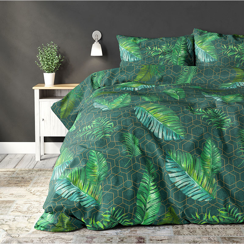 Sleeptime Leaves Decoration Green