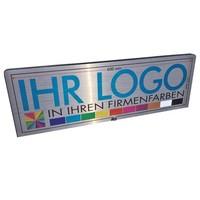 Aufsatz mit Ihrem Logo für den POS-exklusiv.de Kundenstopper