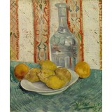 Carafe and Dish with Citrus Fruit
