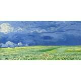 Wheatfield under Thunderclouds