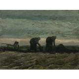 Women working on the Peat Moor