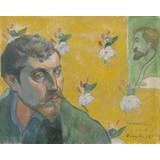 Self-Portrait with Portrait of Émile Bernard (Les misérables)