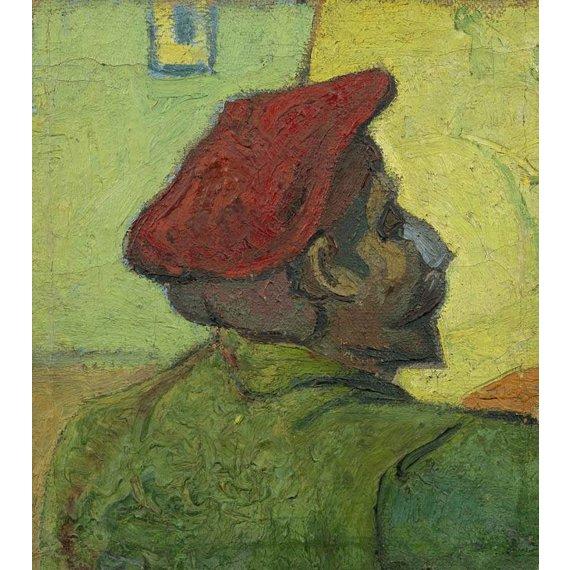 Portrait of Gauguin - Card / A4 reproduction