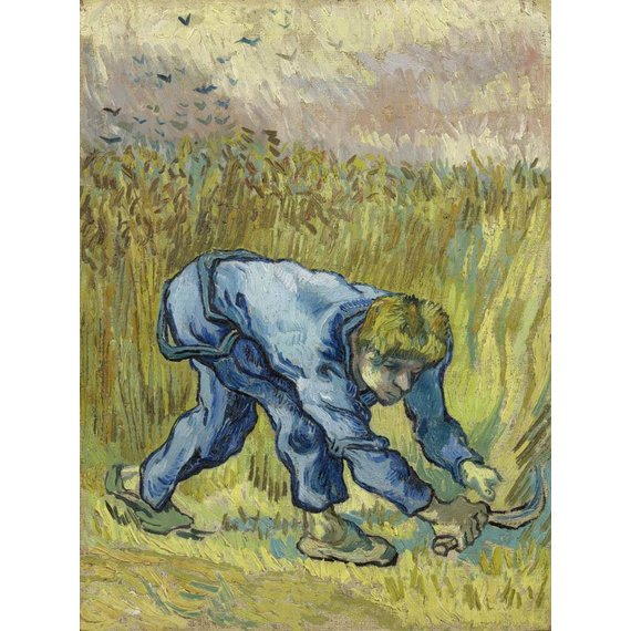 The Reaper (after Millet) - Card / A4 reproduction