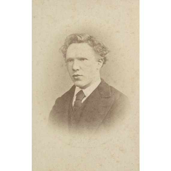 Vincent van Gogh at the age of 19 - Card / A4 reproduction