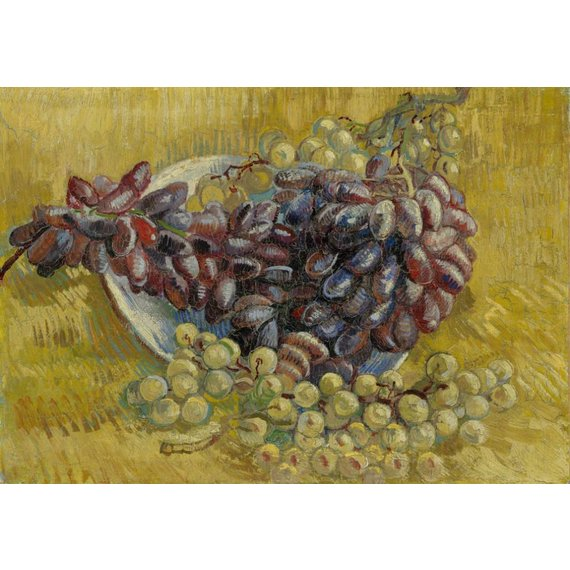 Grapes - Card / A4 reproduction