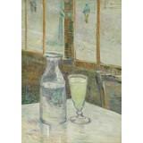 Café Table with Absinthe - Book / Magazine / Flyer