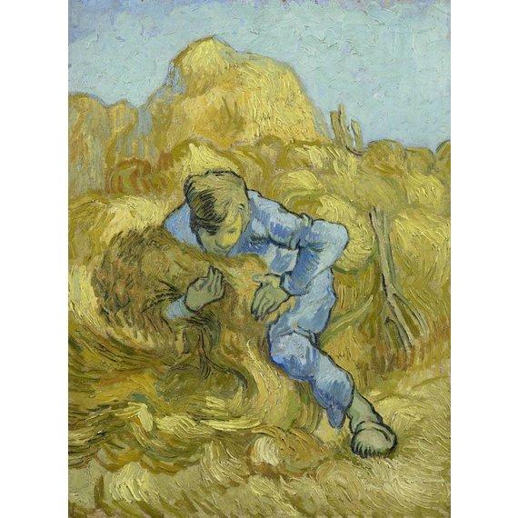 The Sheaf-Binder (after Millet) - Book / Magazine / Flyer
