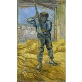 The Thresher (after Millet) - Card / A4 reproduction