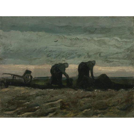 Women working on the Peat Moor - Book / Magazines / Flyer