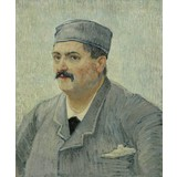 Portrait of Etienne-Lucien Martin - Card / A4 reproduction