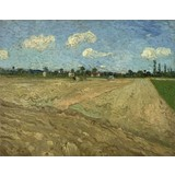 Ploughed Fields ('The Furrows') - Card / A4 reproduction