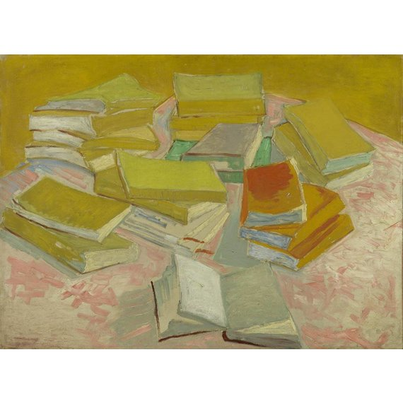 Piles of French Novels - Multimedia / Film / Video