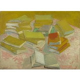 Piles of French Novels - Card / A4 reproduction