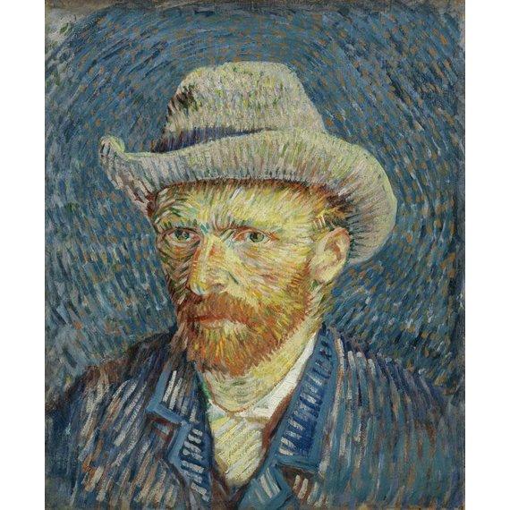 Self-Portrait with Grey Felt Hat - Multimedia / Film / Video