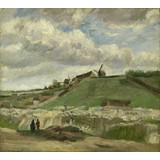 The Hill of Montmartre with Stone Quarry - Book / Magazine / Flyer