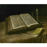 Still Life with Bible - Card / A4 reproduction