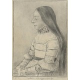 The Daughter of Jacob Meyer (after Bargue after Holbein) - Multimedia / Film / Video