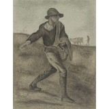 The Sower (after Millet) - Card / A4 reproduction