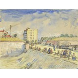 Gate in the Paris Ramparts - Card / A4 reproduction