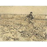 The Sower - Card / A4 reproduction