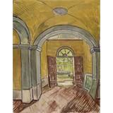 Vestibule in the Asylum - Card / A4 reproduction