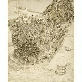 Garden of a Bathhouse - Card / A4 reproduction