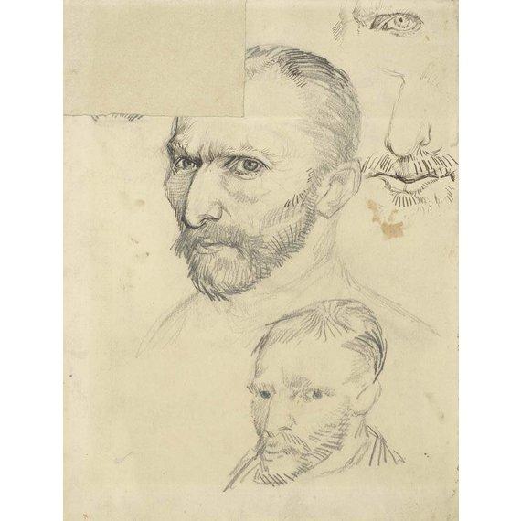 Self-Portraits - Card / A4 reproduction