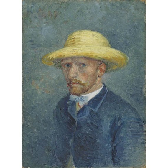 Portrait of Theo van Gogh - Card / A4 reproduction