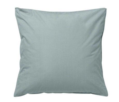 Ferm Living kids Cushion Hush dusty blue organic cotton 80x80cm
