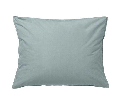 Ferm Living kids Cushion Hush dusty blue organic cotton 70x50cm