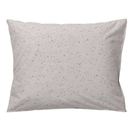 Ferm Living kids Children Cushion Hush Milkyway cream cotton 60x70cm