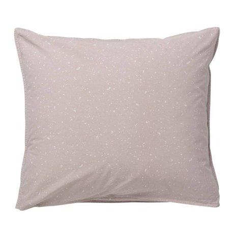 Ferm Living kids Children Cushion Hush Milkyway light pink cotton 60x70cm