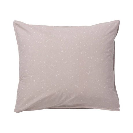 Ferm Living kids Cushion Hush Milkyway light pink organic cotton 60x50cm