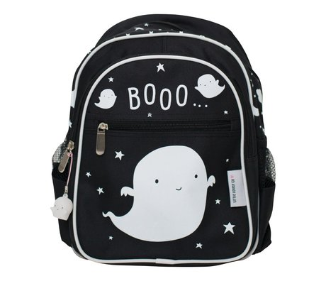 A Little Lovely Company Kids backpack Ghost 25x31.5x15.5cm