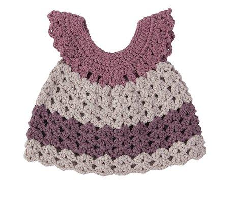 Sebra Dolls Clothing lilac purple cotton 40cm