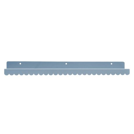 Eina Design Kinderwandplank lichtgrijs metaal 50x9cm