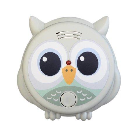 Flow Smoke detector Mister Owl multicolour plastic Ø10x13cm