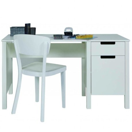LEF collections Children's Bureau 'Jade' white pine 75x140x60cm