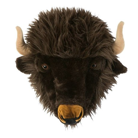 Wild & Soft Animal buffalo Alex gray 35x39x30