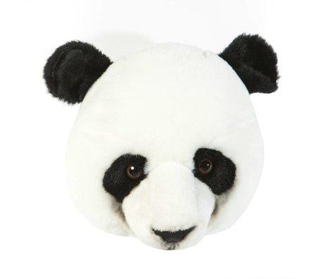 Wild & Soft Dierenkop reuzen panda Thomas 26x29x28