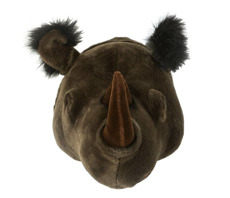 Wild & Soft Animal rhino Michael black 35x34x30