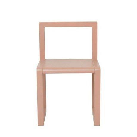 Ferm Living kids Little Architect rosewood chair 32x51x30cm