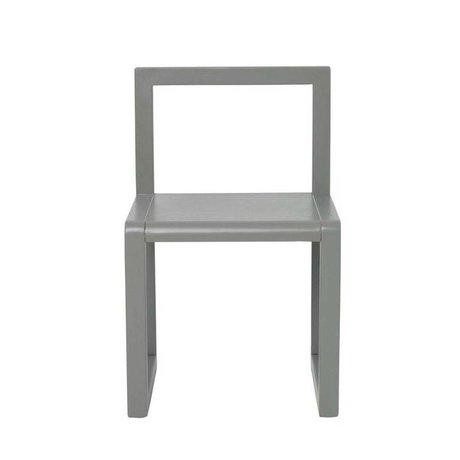 Ferm Living kids Chair Little Architect gray wood 32x51x30cm