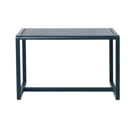 Ferm Living kids Kindertafel Little Architect donkerblauw hout 76x55x43cm