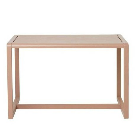 Ferm Living kids Kindertafel Little Architect roze hout 76x55x43cm