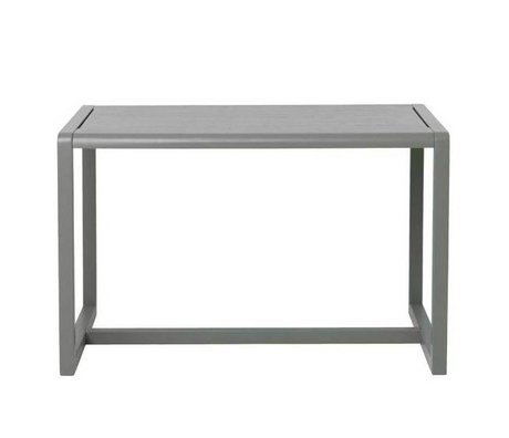 Ferm Living kids Children's Table Little Architect gray wood 76x55x43cm