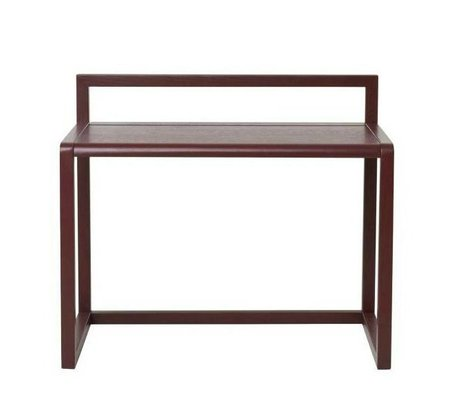 Ferm Living kids Children's Bureau Little Architect burgundy wood 70x45x60cm